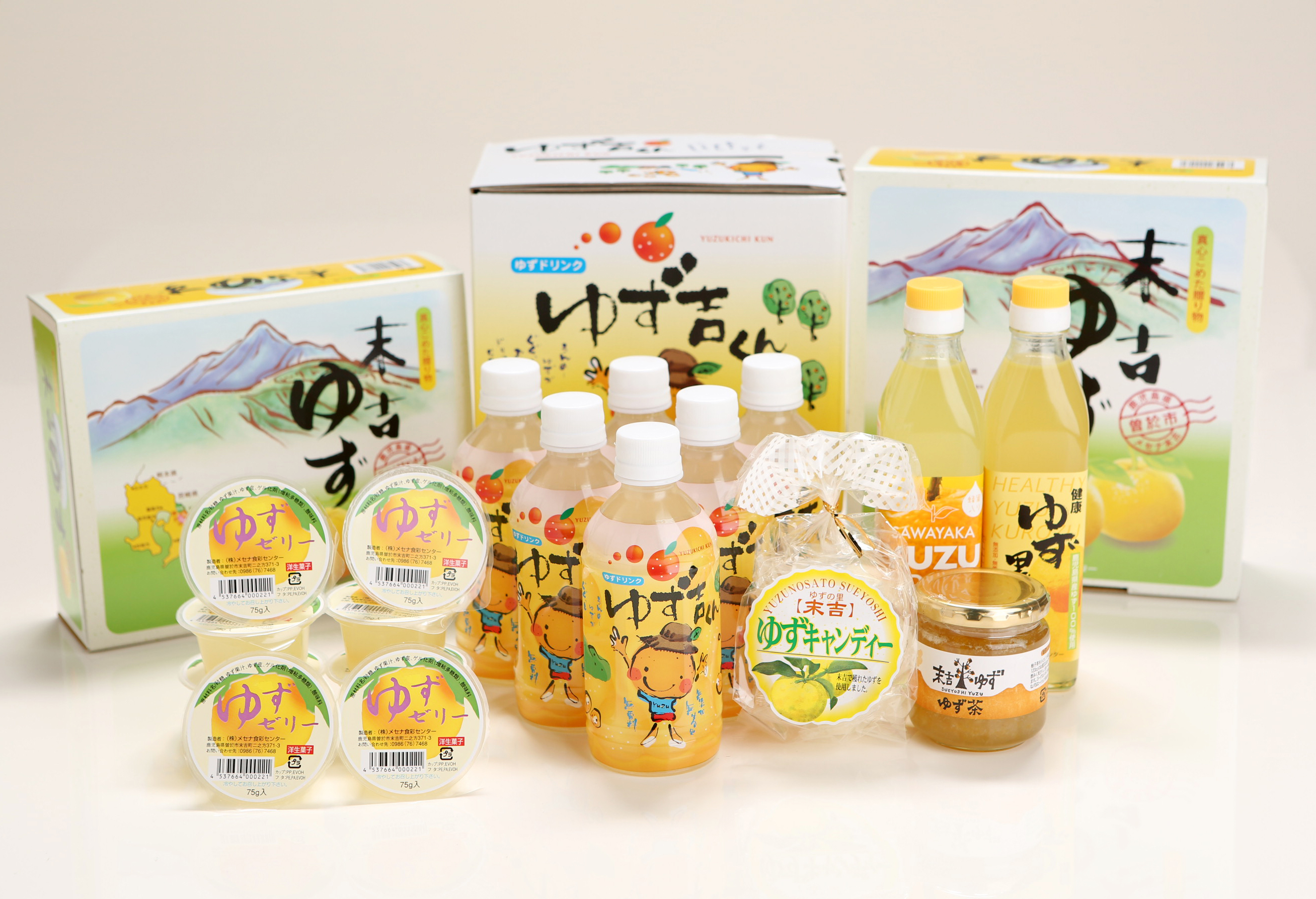 30-A-90 子どもも喜ぶゆず彩りセット(飲料編)